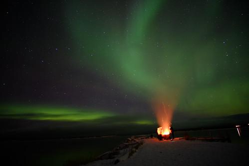 aurora at Abisko