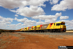 18 November 2017 P2504 P2506 P2513 empty 7720 ore Tardun (RailWA) Tags: railwa philmelling aurizon midwest p2504 p2506 p2513 empty 7720 ore tardun