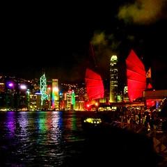 hong kong at hight (sculptorli) Tags: hongkong nightlight china harbor réflexion reflection harbour