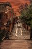 Erice (ilsiciliano_) Tags: erice trapani sicilia italia sunset tramonto urban