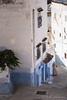 Descent (Mike Gabelmann) Tags: africa blue building chaouen chefchaouen color colour gender male morocco people street white