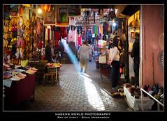 Ray of Light - Souk Marrakech (Hagens_world) Tags: market marokko marrakesch africa afrika handel markt marktplatz maroc marrakech marrakesh morocco mercado medina marrakeschsafi canon canoneos5dmarkiii mar souk