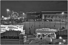 Voran FC St. Pauli Amateure (/RealityScanner/) Tags: deutschland hamburg nacht lichter beleuchtung stadt city urban nights light lighting panasonic lumix gm5 fcsp stpauli pauli millerntor dom heiliggeistfeld fussball soccer stadion stadium amateure amateurs leica dg summilux 15f17