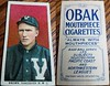 1910 T212-2 Obak Cigarettes Baseball Card (Always with Mouthpieces #2 / 175 Subjects) - BOB BROWN (Infielder / Outfielder / Playing Manager) (Vancouver Beavers / Northwestern League) (Canadian Baseball Hall of Fame / Builder 1989) (#238) (Treasures from the Past) Tags: t212 tobaccocard tobacco 1909 1910 1911 cigarette cigarettecard americantobaccocompany t212obak obak baseballcard vintage californiabranch obakmouthpiececigarettesbrand mouthpiececigarettes nwl northwestleague northwesternleague pcl pacificcoastleague bobbrown vancouverbeavers beavers infielder outfielder manager owner canadianbaseballhalloffame halloffame hof