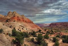 Afternoon sun on Sky Pocket (Chief Bwana) Tags: az arizona vermilioncliffs navajosandstone sandhills pariaplateau skypocket psa104 chiefbwana 2017fav 500views