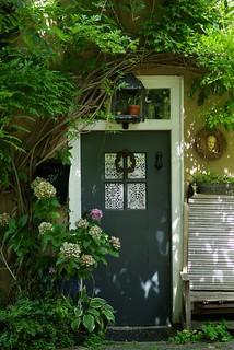Door in the greens