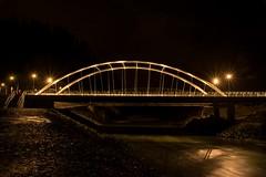 DSC_8404 (Copy) (pandjt) Tags: chilliwack bc britishcolumbia nightphotography vedderbridge vedderriver chilliwackriver bridge steelarchbridge archbridge