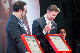 Logan Japan Premiere Red Carpet: James Mangold & Hugh Jackman