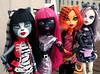Pussycats (1/2) (♪Bell♫) Tags: monster high doll mattel kitty cat pussycats