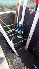 DSC_0698 (Feuerwehr Weblog) Tags: tiefbau tiefbauunfälle trench rescue technicalrescue technische hilfeleistung feuerwehr reiskirchen
