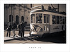 Tram 25 (Parallax Corporation) Tags: lisbon tram25 tramlines mono duotone blackwhite tourists