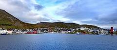 2016-09-02 06 Kreuzfahrt Norwegen, vor Honningsvag (kaianderkiste) Tags: norwegen norway honningsvag top küste shore