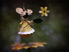 Maggie Mouse (Explored November 28, 2017) (Anne Worner) Tags: lensbaby sweet35 lensbabycomposerpro yardart mouse metal ears nose teeth flower cute shallowdof selectivefocus manualfocus manualfocuslens olympus em5 anneworner texture layers whiskers tail