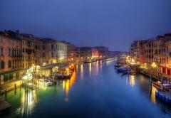 Venezia at night (Ruinenvogel) Tags: venedig venice venezia venise ponterialto canalgrande night nightshots nacht nachtaufnahmen