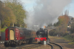 GREAT_CENTRAL_RAILWAY_2017_Winter_Steam_Gala_and_Steam_Enthusiast_Weekend_B2 (peter_skuce) Tags: greatcentralrailway train railway britishrailways hunslet austerity leicesternorth