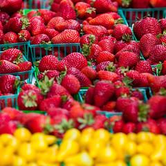 Fresh Fruit (Thomas Hawk) Tags: california sanfrancisco usa unitedstates unitedstatesofamerica farmersmarket fruit strawberry fav10