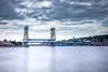 Portage Lake Lift Bridge (Rudy Malmquist) Tags: houghton hancock michigan portage lake bridge upper peninsula long exposure nd bigstopper lee neutral density