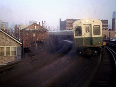 CTA Halsted Curve March 79 (jsmatlak) Tags: chicago cta l elevated subway metro train electric railway