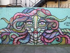 Street art, Shoreditch, London (DJLeekee) Tags: shoerditch bricklane london streetart graffiti shoreditch amora del pios