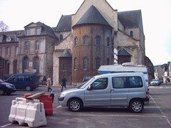 Vue sur l'abbatiale Notre Dame de Bernay - Bernay- Eure- Normandie (pyc14000) Tags: bernay eure normandie 27 abbatiale