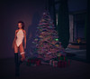 sassy (Jenna Jay ( jjdomzarjs )) Tags: sassy jjdomzarjs redhead christmas xmas tree lights snow secondlife sl slphotography