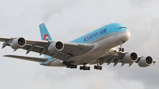 LHR - Korean Air Airbus 380-800 HL7615