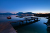 Lac D'annecy (tojoraobadia) Tags: haute savoie annecy lac lake mountain blue hour ponton longexposure pontoon