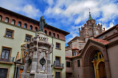 Teruel, Cathedral and Town Hall (Jocelyn777) Tags: architecture buildings architecturaldetails monuments historictowns cities teruel spain travel