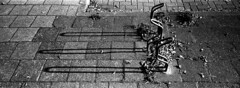 Bicycle Hoops (selyfriday) Tags: selyfriday wwwnassiocomempty nassiocom xpan hasselblad ilford hp5 125 20˙c 6minutes