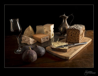 Cheese, Bread & Port