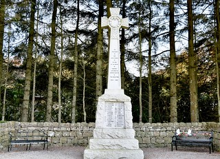Cookney War Memorial Kincardineshire Abedeen Scotland 2017