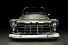 Mean Green (DL_) Tags: vintage classic custom chevy chevrolet pickup automotive transportation olympusomdem5mkii