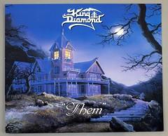 "KING DIAMOND THEM 12"" LP ALBUM VINYL (vinylmeister) Tags: vinylrecords albumcoverphotos heavymetal thrashmetal deathmetal blackmetal vinyl schallplatte disque gramophone album"