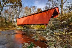 Jerico Road Covered Bridge (Steve859) Tags: coveredbridge gunpowderfallsstatepark jerusalem littlegunpowderfalls