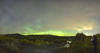 cliff on the elbow (Fall aurora)