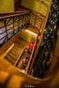 318 de 365photosCasa Botines  Instameet-#reto#rojo (pico_de_la_miel) Tags: casabotinesgaudíinstameet escaleras proyecto365photos2017 moder modernismo maderayforja barandilla león españa hueco