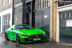 Mercedes-Benz AMG GTR (Stian Håheim) Tags: mercedesbenz mercedes benz amg gtr green car cars supercar supercars auto autos automobile automobiles filter stian håheim photography nikon d3200 af 50mm autumn fall winter 2017 london mayfair polarizingfilter polarized polarizing parked photoshop lightroom photo photographie photograph