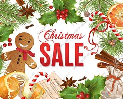 Christmas sale banner (everythingisfivedollar) Tags: sale christmas vintage banner decoration celebration sweet traditional season background holiday offer price buy shopping promotion retail discount ribbon market day decorative advertising shop card xmas realistic poster store gift pine greeting branch winter year new decor seasonal cinnamon bells orange holly gingerbreadman spice chistmastree candy classic christmastree design cover christmasshopping holidaysale newyearsale