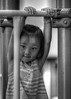 Sweet Face (swong95765) Tags: kid girl play playground cute shy observing watching