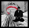 red lipped seppuku (AF Knott) Tags: seppuku collage stickerart