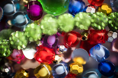 Beads 'n' baubles (OzzRod) Tags: pentax k1 smcpentaxk50mmf12 52project2017macroedition lightbox junkdrawer macro beads baubles bokeh uncropped raynox