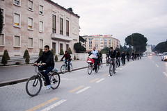 Ecovolis - Ciklistet ne proteste - Liro Korsite - Cyclist protest - bike lanes - albania cyclist (ECOVOLIS) Tags: ecovolis ciklistet ne proteste liro korsite cyclist protest bike lanes albania