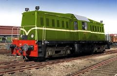 Kleurenstudie NS 2000 (Vriendelijkheid kost geen geld) Tags: ns2000 diesel locomotief whitcomp usarmytransportationcorps ns nederlandsespoorwegen ingekleurdezwartwitfoto lokomotive trein train 1945