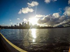 G1051563 (brunohvp) Tags: sydney australia sunset run walking skateboard sea opera birds colorful royal botanic garden bridge habour