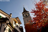 Autumn in Zurich (St. Peter Church)