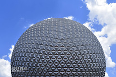 Spaceship Earth (rook.behr) Tags: epcot outdoors disneyworld day spaceshipearth clouds outside
