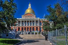 Massachusetts State House (Kev Walker ¦ 7 Million Views..Thank You) Tags: americanrevolution architecture boston building canon1855mm canon700d city citycentre digitalart freedomtrail hdr historic massachusetts usa unitedstates