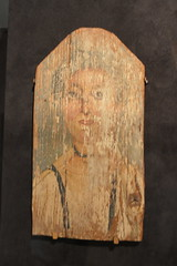 Chicago, IL - Grant Park - Field Museum - Ancient Mediterranean Cultures in Contact - Egyptian Mummy Portrait (jrozwado) Tags: northamerica usa illinois chicago museum fieldmuseum naturalhistory grantpark egyptian mummy portrait