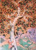 Squirrels in a Plane Tree (pefkosmad) Tags: jigsaw puzzle hobby leisure pastime wentworth wood whimsies figurals 250pieces complete used secondhand lasercute meditepremiertm british classic traditional painting art squirrelsinaplanetree abulhasan wooden tree man climbing