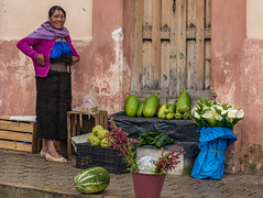 Mini-market. San Cristobal. Chiapas, Mexico (ravalli1) Tags: mexico chiapas sancristobaldelascasas street woman food maya traditional streetphoto dailylife city people travel vacation 2017